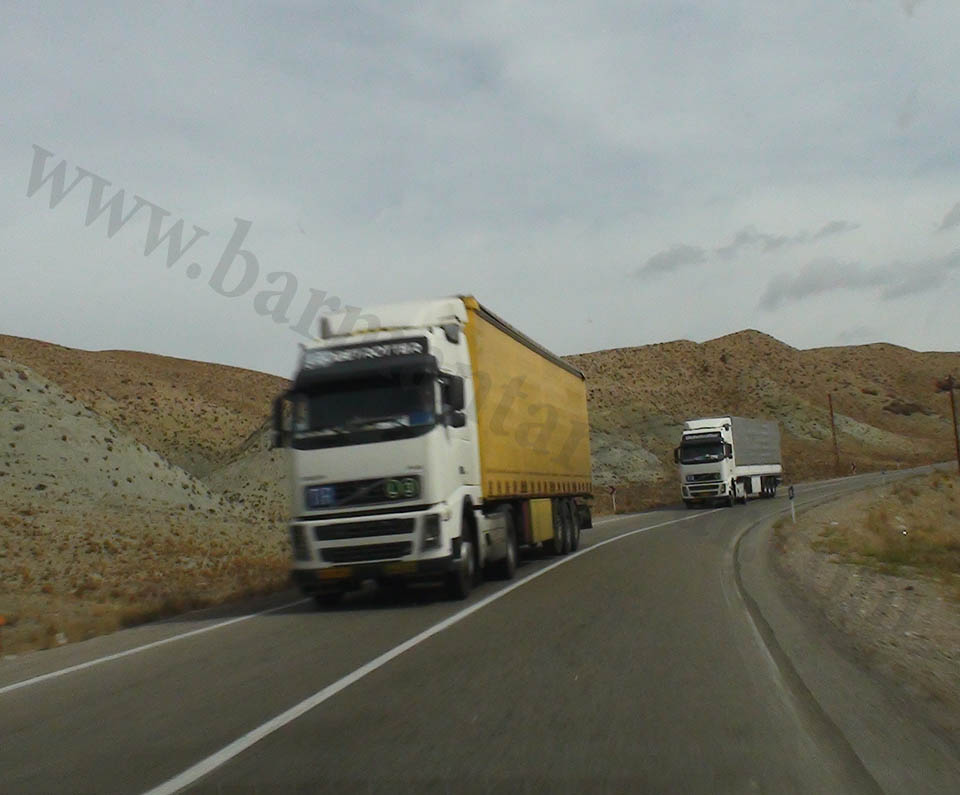 حمل و نقل جاده ای بار