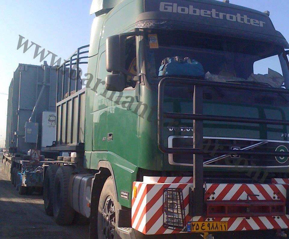 حمل و نقل جاده ای بارمان ترابر
