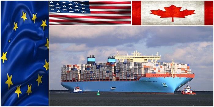 3 - خدمات باربری و حمل دریایی با نرخ ویژه به کانادا و بنادر اروپا