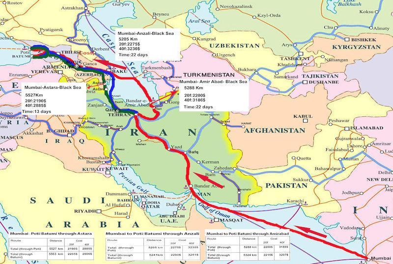 23385 - خدمات حمل ریلی از اینچه برون به ترکمنستان ، قزاقستان و روسیه