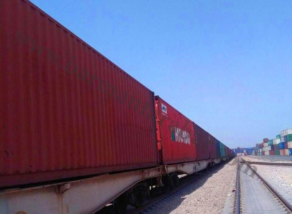 flatrack wagon - حمل ریلی (حمل با قطار)