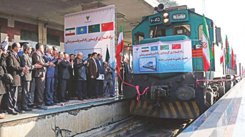 First Silk TRain - مسیر ریلی چین به ایران