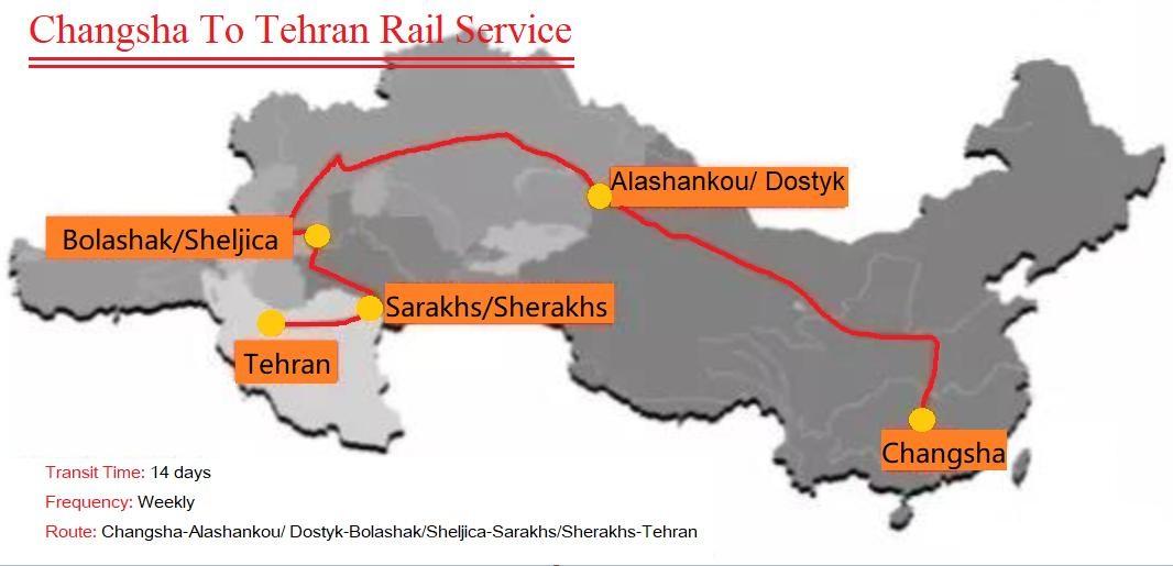 New5 - مسیر ریلی چین به ایران