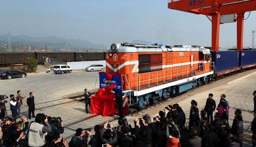 first container - مسیر ریلی چین به ایران