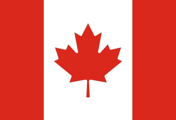 canada flag - حمل بار به کانادا