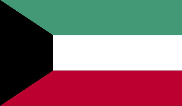 kuwait flag - حمل بار به کویت