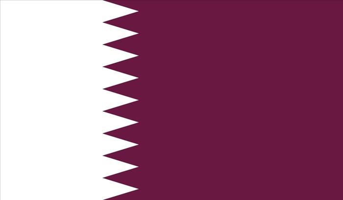qatar flag - حمل کالا به قطر